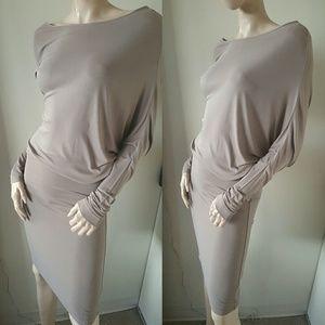Bcbg MaxAzria Max Azria Dress Long Sleeves S Small